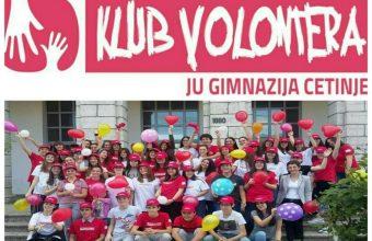Volonterski klub Gimnazije Cetinje: Činim pravu stvar